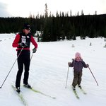 Endless winter and summer exploring opportunities. Here's 4 x Olympian Sara Renner and her daugh