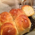 Garlic Knots they come with a meal - don't order them as an appetizer.