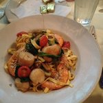  Seafood linguine special