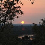  Sunset at The Confluence Viewpoint - overlooking the Limpopo River
