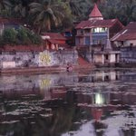 the holy water tank in Gokarna village!