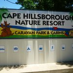 Cape Hillsborough Nature Resort Entrance
