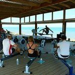 Fitness by the sea