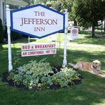  Ellie, The Jefferson Inn Mascot!