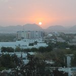  Sunrise over Muscat from the Intercontinental