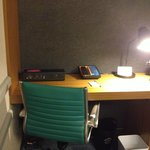  Desk area for woking