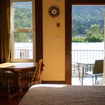 EACH SUITE HAS IT'S OWN DECK/VERANDAH WITH OUTDOOR DINING FURNITURE AND A BBQ