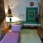 Bed - quirky but heaps cute!
