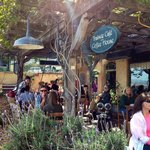  Outdoor seating in March with live music