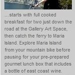 Maria Island Escape Package