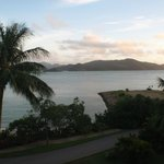 View from our balcony at Hamilton Island Reef Escape Frangipani Apartments