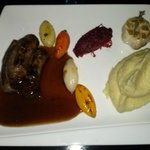Homemade Lamb Sausages with Mashed Potato