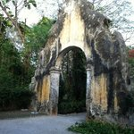  Old portal entrance to the hacienda.