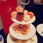 afternoon tea @ high society