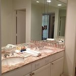  their bathroom amenities are amazing, and great space for a couple to get ready...water pressure