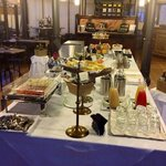  il buffet della prima colazione