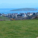 View from Tyn y Mur camping and caravan site in Abersoch