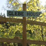 Glebe House sign