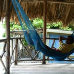  Private deck with hammocks in the Orchid Cabana