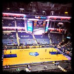  Grizzlies Game view from Terrace Section 223 Row A Seat 1