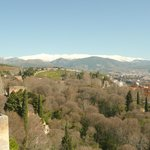  l&#39;Alhambra , la Sierra Nevada