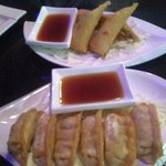 spring rolls and pot stickers app