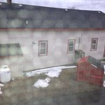  View from my machias motor inn room-place is 1/2 empty as well