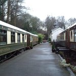 The Pullman Carriages (on a rainy day!!)