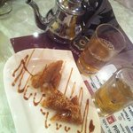  marroquian tea with good desert!