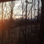  Smoky Mtn Sunrise from Cottage Porch
