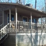  Cottage porch for relaxing
