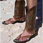  TEXAS FLIP FLOPS!
