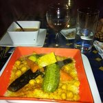  couscous vegetarien... semoule maison ... un regal