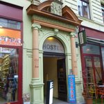  Entrance to Prague Square Hostel