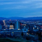  Night View of Salt Lake City