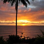 sunrise over Hilo bay