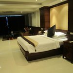 Bed & Sofa area