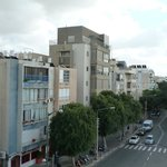 View upon Dizengoff street from the balcony