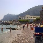  Capri beach, beside the main dock