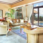 Indra Maya Pool Villa - Living Room