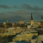  View from the upper floors over Tallinn old town