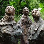  Artist of the Silk Road bronze sculpture at Broomhill