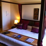 Bedroom in the Mandara suite