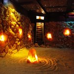 The Saline in the Salt Therapy Cave