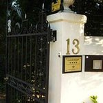 Gate at 13 Somerset street
