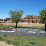 River from Blue Lake at the Pueblo
