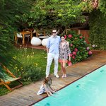 Owners in Home Hotel Pool Garden