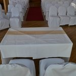  Ceremony room set up