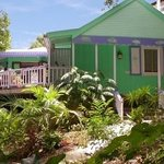 Caribbean B & B surrounded by lush gardens
