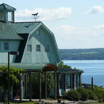 Fox Run overlooks Seneca Lake in the heart of Finger Lakes Wine Country